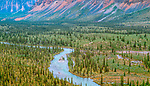 Ravensthroat River, Mackenzie Mountains, Northwest Territories, Canada