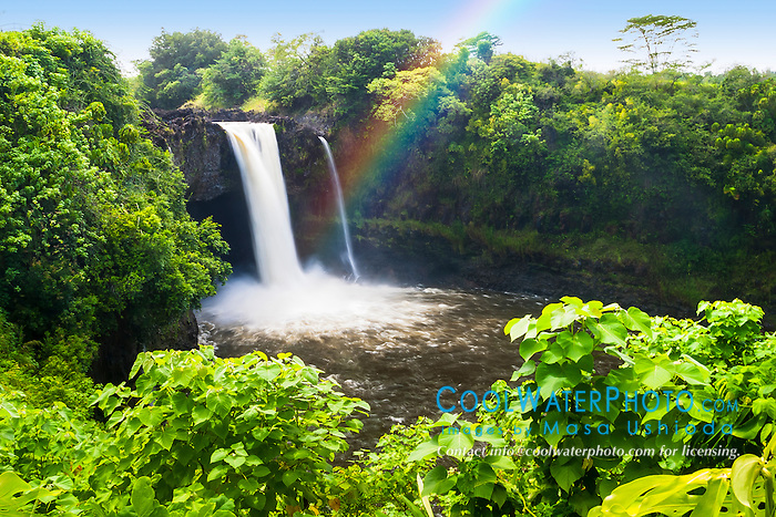 Rainbow Falls, Wailuku River State Park, Hilo, Big Island, Hawaii, USA