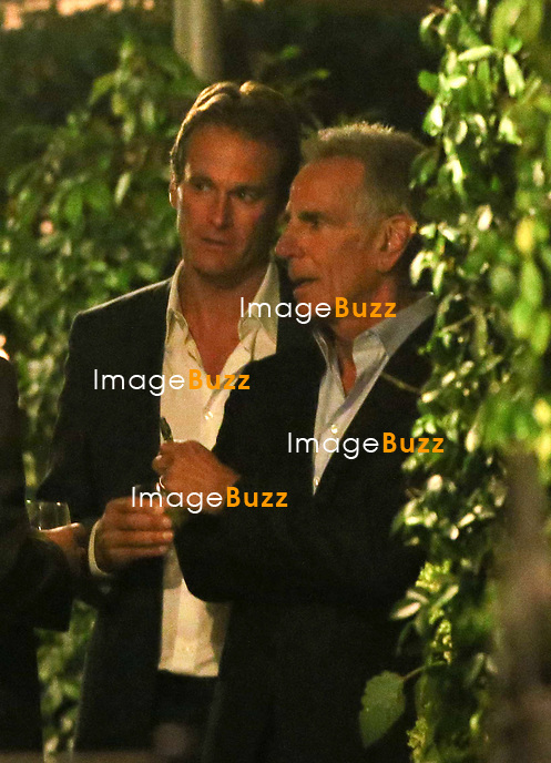Rande Gerber - GEORGE CLOONEY &amp; AMAL ALAMUDDIN CELEBRATE STAG NIGHT EVENT AT DA IVO RESTAURANT IN VENICE - <br /> George Clooney &amp; British fiancee Amal Alamuddin celebrate their stag night event at the Da Ivo restaurant in Venice, prior to their wedding day. <br /> Robert De Niro, Matt Damon, Brad Pitt and Cate Blanchett were among the other stars, like Cindy Crawford, Rande Geber, Bill Murray, Emily Blunt.<br /> Italy, Venice, 26 September, 2014.