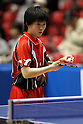 Ayuka Tanioka, JANUARY 20, 2011 - Table Tennis : All Japan Table Tennis Championships, Women's Singles at Tokyo Metropolitan Gymnasium, Tokyo, Japan. (Photo by Daiju Kitamura/AFLO SPORT) [1045]..