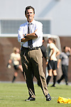 14 October 2007: UNC head coach Anson Dorrance. The University of North Carolina Tar Heels defeated the Wake Forest University Demon Deacons 1-0 at Fetzer Field in Chapel Hill, North Carolina in an Atlantic Coast Conference NCAA Division I Womens Soccer game.