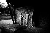 Wlosciejewki 25.07.2009 Poland<br /> Dummies for shooting drills.<br /> Training of the elite security service by European Security Academy ( its founder is living legend Andrzej Bryl ) and Israeli security forces Shin Bet in E.S.A seat in Wlosciejewki ( Poland ). This is the first course for international elite bodyguards, who will protect VIP's and promoters on the FIFA World Cup in RPA 2010 and UEFA European Cup in Poland and Ukraine 2012.<br /> Photo: Adam Lach / Napo Images<br /> <br /> Manekiny do cwiczen strzeleckich.<br /> Szkolenie elitarnych sluzb ochroniarzy przez European Security Academy ( jej zalozycielem jest zyjaca legenda dr. Andrzej Bryl ) i izraelskie sluzby bezpieczenstwa Shin Bet. To pierwsze szkolenia dla miedzynarodowych elitarnych ochroniarz, ktorzy beda zabezpieczac VIP'ow i organizatorow podczas Mistrzostw Swiata w pilce noznej RPA 2010 i w trakcie Mistrzostw Europy w Polsce i na Ukrainie w 2012.<br /> Fot: Adam Lach / Napo Images
