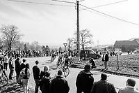 race leaders on their way to the Kortekeer<br /> <br /> 60th E3 Harelbeke (1.UWT)<br /> 1day race: Harelbeke &rsaquo; Harelbeke - BEL (206km)