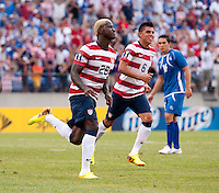 Eddie Johnson.  The United States defeated El Salvador, 5-1, during the quarterfinals of the CONCACAF Gold Cup at M&T Bank Stadium in Baltimore, MD.