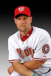 25 February 2007: Washington Nationals pitcher Jason Simontacchi poses for his Photo Day portrait at Space Coast Stadium in Viera, Florida.<br /> <br /> Mandatory Photo Credit: Ed Wolfstein Photo<br /> <br /> Note: This image is available in a RAW (NEF) File Format - contact Photographer.