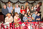 Noel O'Connor, Causeway, celebrating his 70th Birthday with Family at Cassidy's on Saturday