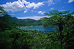 French Polynesia, Tahiti, Taha'a. Scenery of Taha'a.