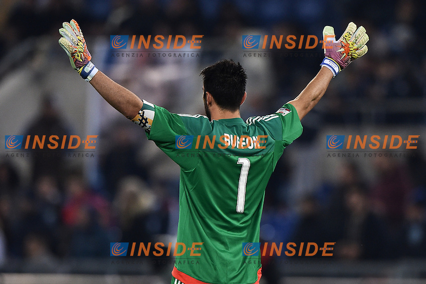 Gianluigi Buffon Juventus <br /> Roma 04-12-2015 Stadio Olimpico Football Calcio 2015/2016 Serie A Lazio - Juventus Foto Andrea Staccioli / Insidefoto