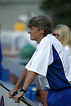 13 July 2003: Breakers head coach Pia Sundhage. The Boston Breakers defeated the Philadelphia Charge 3-1 at Boston University's Nickerson Field in Boston, MA in a regular season WUSA game..Mandatory Credit: Andy Mead/Icon SMI