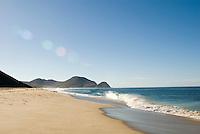"Beach near ""El Hotelito"" in Todo Santos, Baja California Sur, Mexico.  Friday, Feb 15, 2008"