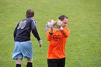 VOETBAL: JOURE: Sportpark de Hege Simmerdyk, 11-05-2014, SC Joure - VV Hoogeveen uitslag 3-3, Publiekswissel Andre Zeldenthuis, ©foto Martin de Jong