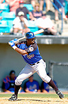 18 March 2006: Lastings Milledge, outfielder for the New York Mets, at bat during a Spring Training game against the Washington Nationals at Space Coast Stadium, in Viera, Florida. The Nationals defeated the Mets 10-2 in Grapefruit League play...Mandatory Photo Credit: Ed Wolfstein Photo..
