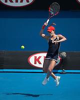 Alize Cornet (FRA)<br /> <br /> Tennis - Australian Open 2015 - Grand Slam -  Melbourne Park - Melbourne - Victoria - Australia  - 22 January 2015. <br /> &copy; AMN IMAGES