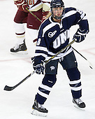 Arielle O'Neill (UNH - 8) - The Boston College Eagles and the visiting University of New Hampshire Wildcats played to a scoreless tie in BC's senior game on Saturday, February 19, 2011, at Conte Forum in Chestnut Hill, Massachusetts.