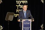10.11.2013, Berlin. Synagoge Beth Zion. Präsident des Zentralrats der Juden in Deutschland Dieter Graumann