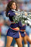 13 November 2005: Buffalo Bills Cheerleader performs onfield prior to kickoff against the Kansas City Chiefs at Ralph Wilson Stadium in Orchard Park, NY. The Bills defeated the Chiefs 14-3. ..Mandatory Photo Credit: Ed Wolfstein