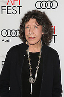 HOLLYWOOD, CA - NOVEMBER 11: Lily Tomlin at the premiere of 'Flirting With Disaster' at AFI Fest 2016, presented by Audi at TCL Chinese 6 Theater on November 11, 2016 in Hollywood, California. Credit: Faye Sadou/MediaPunch