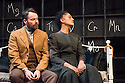 London, UK. 03.02.2015. RADIANCE: The Passion of Marie Curie, by Alan Alda, opens at the Tabard Theatre. Cathy Tyson stars as Marie Curie. © Jane Hobson.