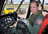 Prince William starts Air Ambulance Job - UK