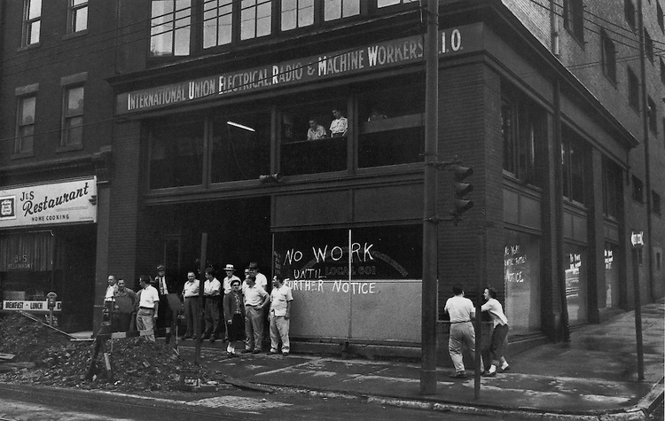 International Union of Electrical, Radio, and Machine Workers. Photograph by W. Eugene Smith.
