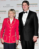 Jean Kennedy Smith and William Kennedy Smith arrive for the formal Artist's Dinner honoring the recipients of the 2011 Kennedy Center Honors hosted by United States Secretary of State Hillary Rodham Clinton at the U.S. Department of State in Washington, D.C. on Saturday, December 3, 2011. The 2011 honorees are actress Meryl Streep, singer Neil Diamond, actress Barbara Cook, musician Yo-Yo Ma, and musician Sonny Rollins..Credit: Ron Sachs / CNP