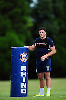 Francois Louw of Bath Rugby looks on. Bath Rugby pre-season training session on August 9, 2016 at Farleigh House in Bath, England. Photo by: Patrick Khachfe / Onside Images