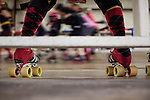 Texas Roller Derby practice in Austin, Texas.