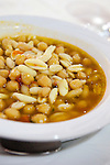 Chickpea and pasta soup, Puglia, Italy