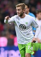 Fussball  1. Bundesliga  Saison 2016/2017  14. Spieltag  FC Bayern Muenchen - VfL Wolfsburg    10.12.2016 Jakub Blaszczykowski (VfL Wolfsburg)