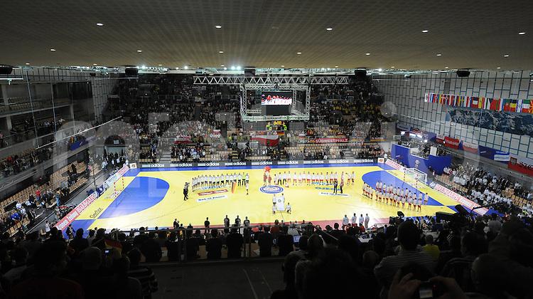 Handball EM Herren 2010 Vorrunde Deutschland - Polen 19.01.2010 Uebersicht Olympiahalle Innsbruck