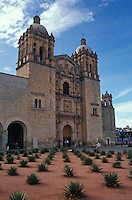 The Iglesia de Santo Domingo in the city of Oaxaca, Mexico