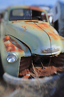 Rusted Green Chevrolet - Pearsonville, CA - Lensbaby