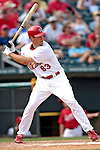 14 March 2007: St. Louis Cardinals outfielder Ryan Ludwick in the action against the Washington Nationals at Roger Dean Stadium in Jupiter, Florida...Mandatory Photo Credit: Ed Wolfstein Photo