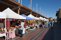 farmers market in Santa Fe, NM