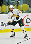 10 February 2012: University of Vermont Catamount defenseman Blake Doerring, a Freshman from Chanhassen, MN, in action against the Boston College Eagles at Gutterson Fieldhouse in Burlington, Vermont. The Eagles defeated the Catamounts 6-1 in their Hockey East matchup. Mandatory Credit: Ed Wolfstein Photo