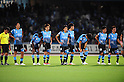 Kawasaki Frontale team group,AUGUST 6, 2011 - Football :Kawasaki Frontale players look dejected after the 2011 J.League Division 1 match between between Kawasaki Frontale 1-2 Cerezo Osaka at Todoroki Stadium in Kanagawa, Japan. (Photo by AFLO)