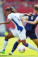Glasgow, Scotland - July 25, 2012: Amy le Peilbet of the US women's national team during USA's 4-2 win over France.