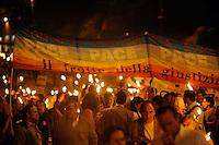 Roma 24 Settembre 2009.Manifestazione di protesta contro il razzismo e l'intolleranza in  seguito ai recenti episodi  di violenza contro i gay a Roma. Rome 24 September 2009.Protest against racism and intolerance following of recent incidents of violence against gays in Rome .