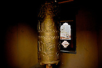 Bhutan - prayer wheel
