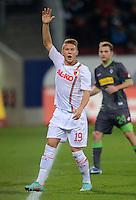 FUSSBALL   1. BUNDESLIGA  SAISON 2012/2013   13. Spieltag FC Augsburg - Borussia Moenchengladbach           25.11.2012 Matthias Ostrzolek (FC Augsburg)