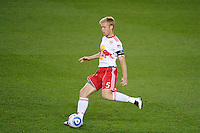 Tim Ream (5) of the New York Red Bulls. The New York Red Bulls and the Vancouver Whitecaps played to a 1-1 tie during a Major League Soccer (MLS) match at Red Bull Arena in Harrison, NJ, on September 10, 2011.