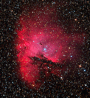 NGC 281, The Pacman Nebula