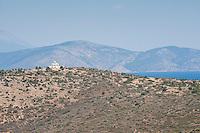 Scenic drive to Delphi in the Gulf of Corinth, near Galaxidi, Greece