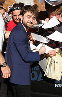 NEW YORK, NY-August 15: Daniel Radcliffe at The Daily Show with Trevor Noah to talk about his new movie Imperium in New York. August 15, 2016. Credit:RW/MediaPunch
