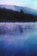 Nova Scotia, Canada, 1967. Early morning landscape.