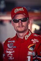 Dale Earnhardt Jr. , Portrait, Daytona 500, Daytona International Speedway, Daytona Beach, FL, February 18, 2001.  (Photo by Brian Cleary/ www.bcpix.com )