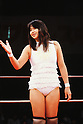 Michiko Nishiwaki, OCTOBER 7, 1990 - Pro-Wrestling : Pro-Wrestler Michiko Nishiwaki is seen during the All Japan Women's Pro-Wrestling in Japan. (Photo by Yukio Hiraku/AFLO)