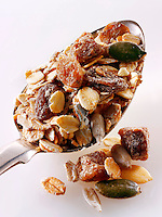 date and dried fruit museli