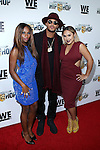 Egypt Criss, Romeo Miller and Kristinia DeBarge at WE TV's Growing Up Hip Hop Premiere Party Held at Haus