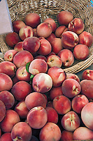 Fresh Fruit, Peaches, Produce, Farmers Market, Farm-fresh, fruits,